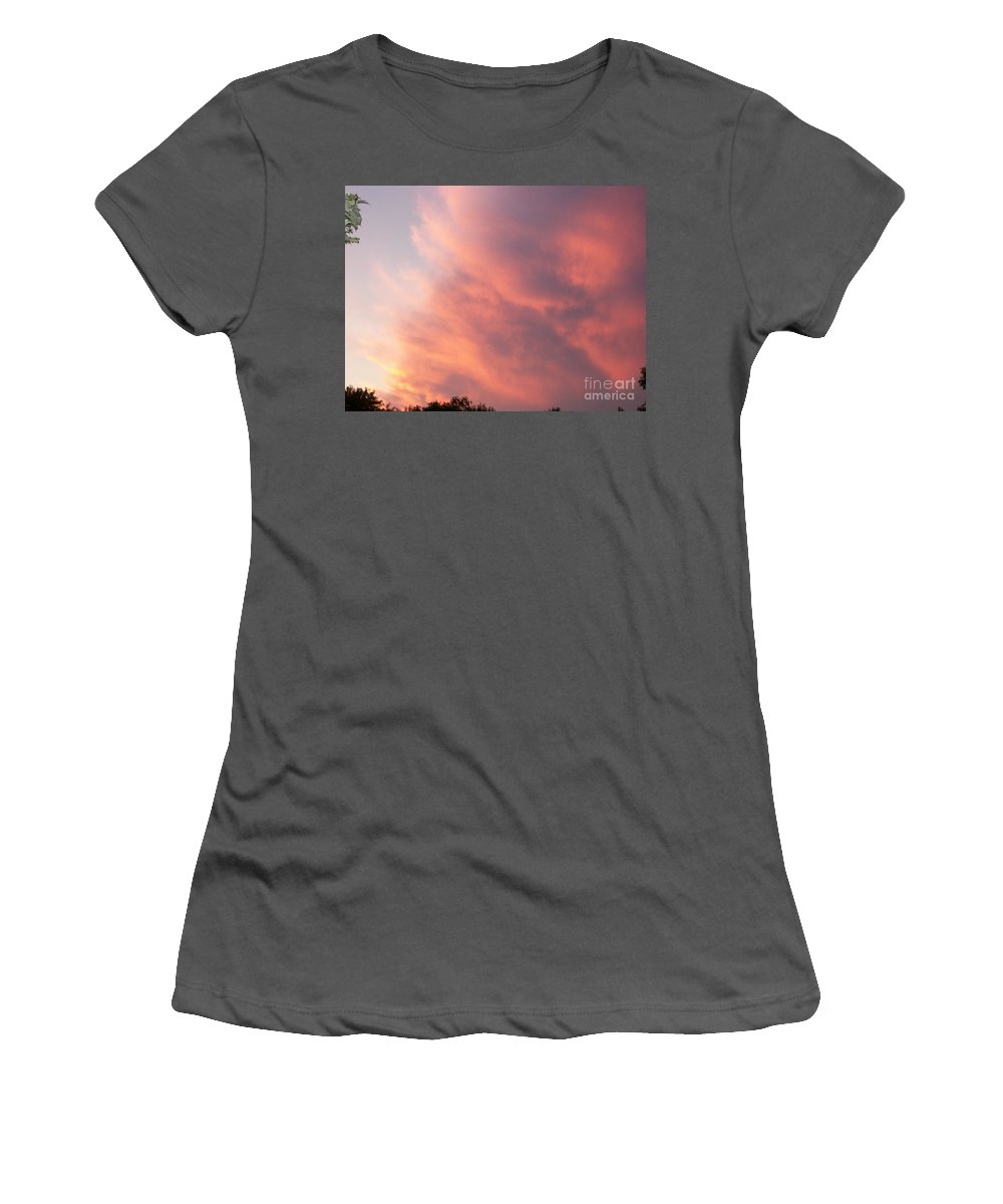 Nature Women's T-Shirt (Athletic Fit) featuring the photograph Futile Faces by Stephen King