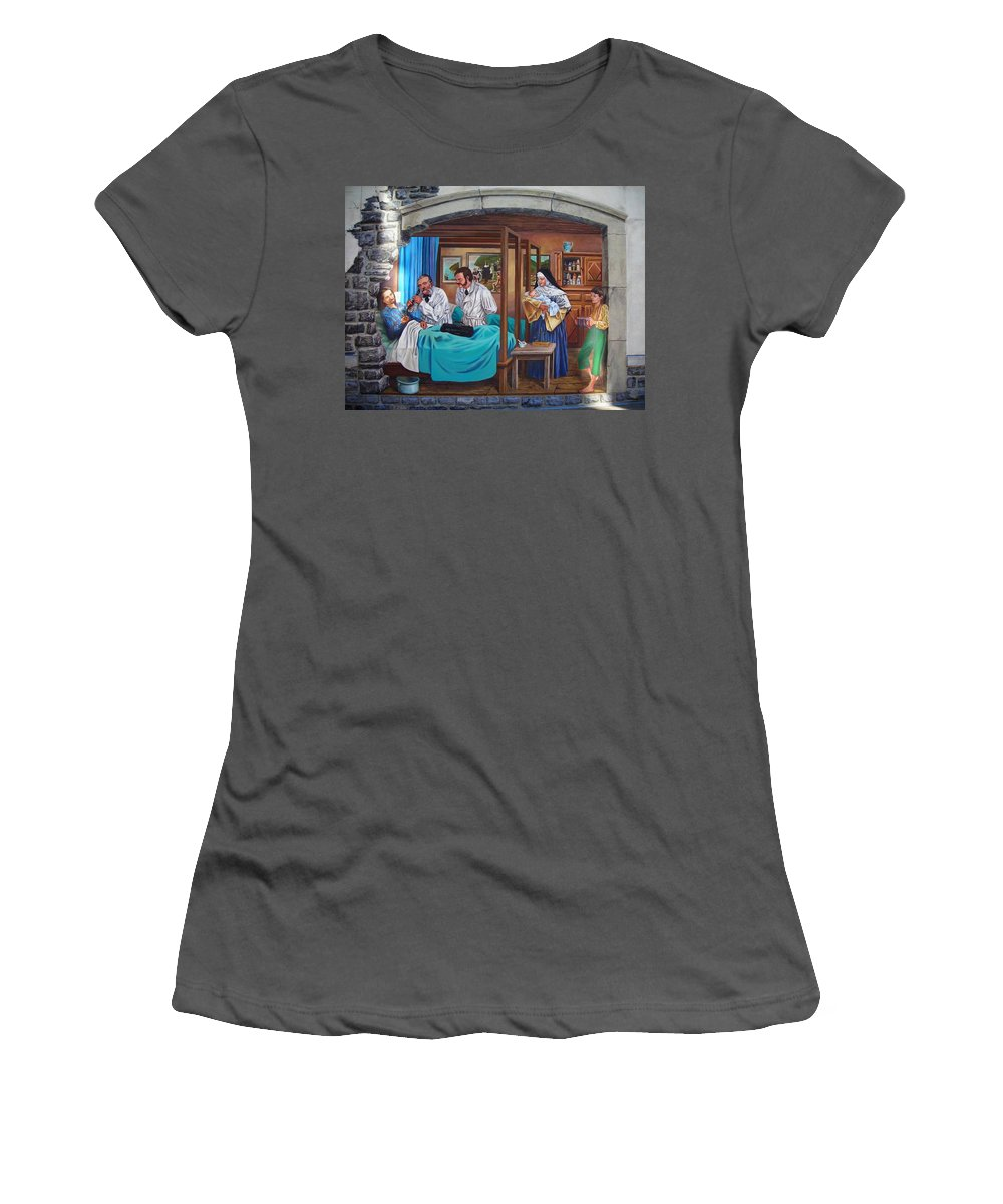 Paint Women's T-Shirt (Athletic Fit) featuring the photograph Get Well Soon ... by Juergen Weiss