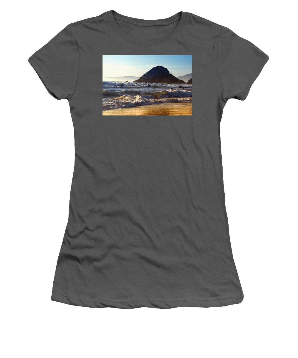 Nature Women's T-Shirt (Athletic Fit) featuring the photograph Golden Day by John K Sampson