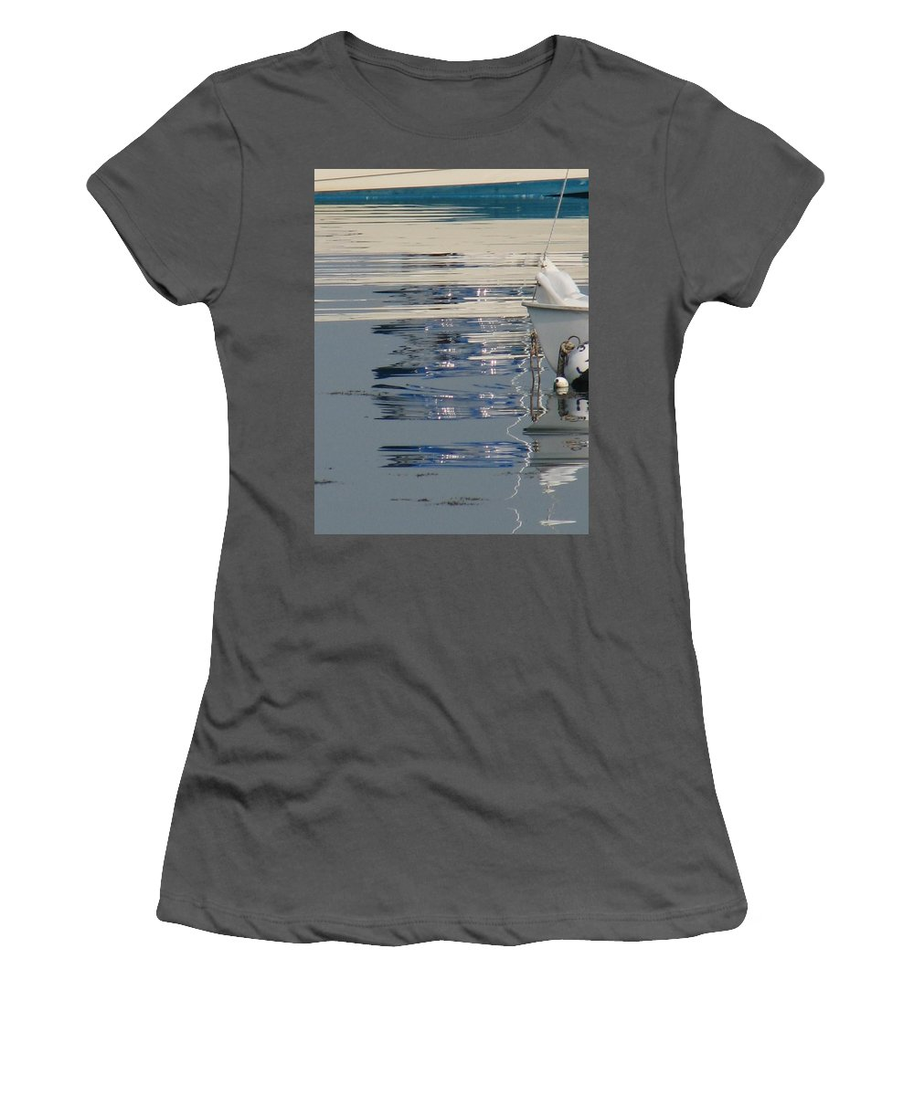 Ocean Women's T-Shirt (Athletic Fit) featuring the photograph Great Day For Sailing by Kelly Mezzapelle