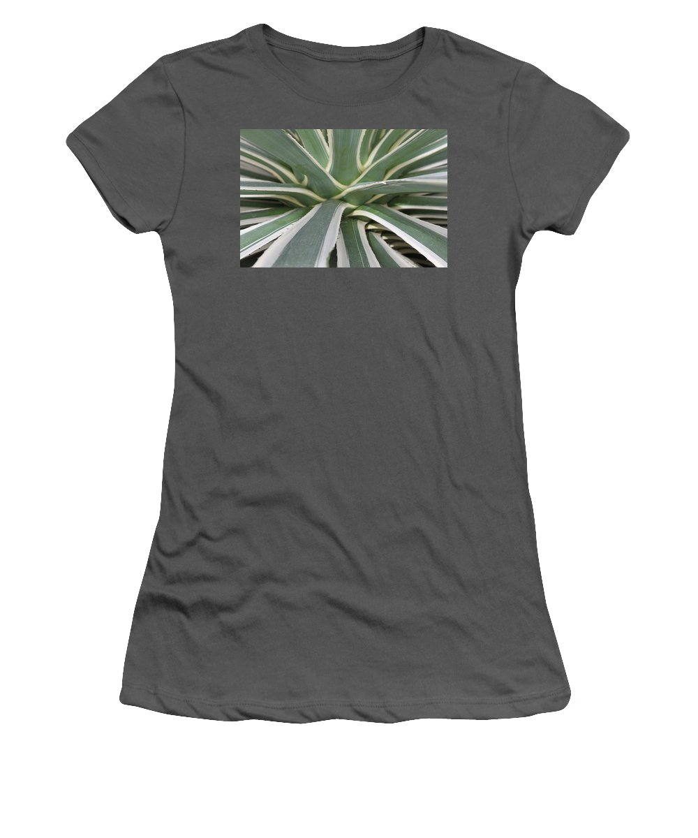 Nature Women's T-Shirt (Athletic Fit) featuring the photograph Growth by Munir Alawi