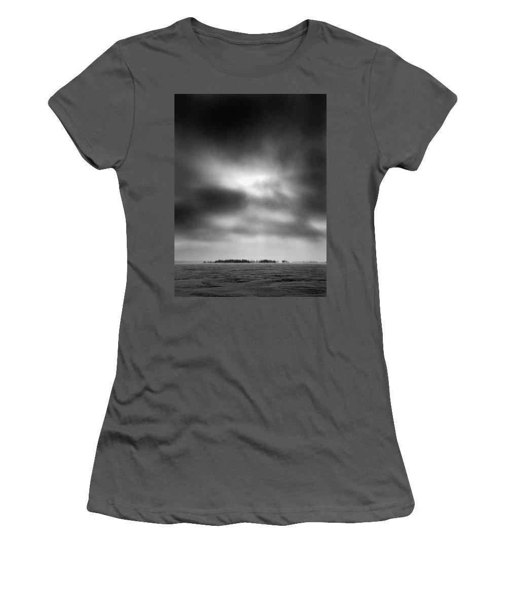 Lehtokukka Women's T-Shirt (Athletic Fit) featuring the photograph Gulf Of Bothnia Variations Nr 15 by Jouko Lehto