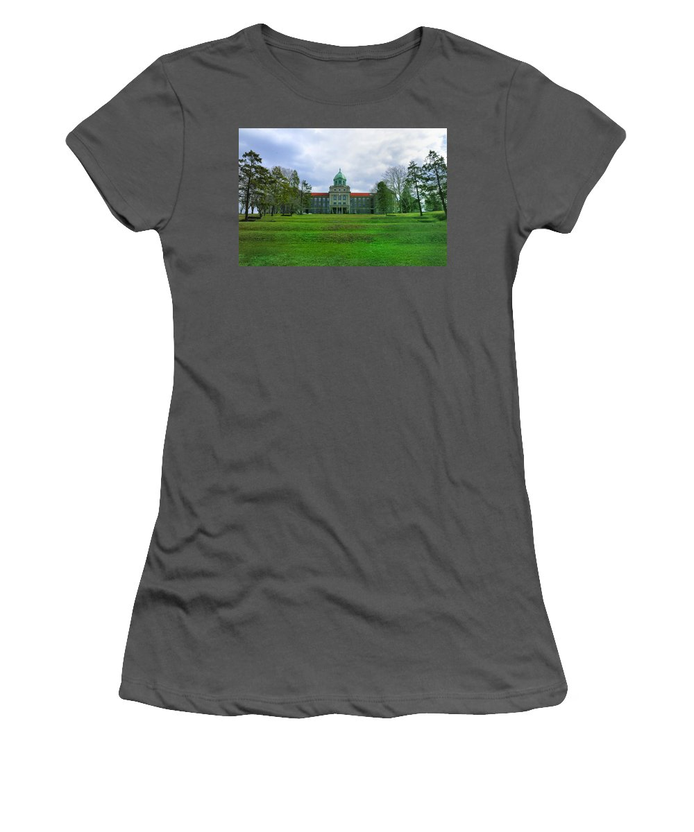 Immaculata Women's T-Shirt (Athletic Fit) featuring the photograph Immaculata University by Bill Cannon
