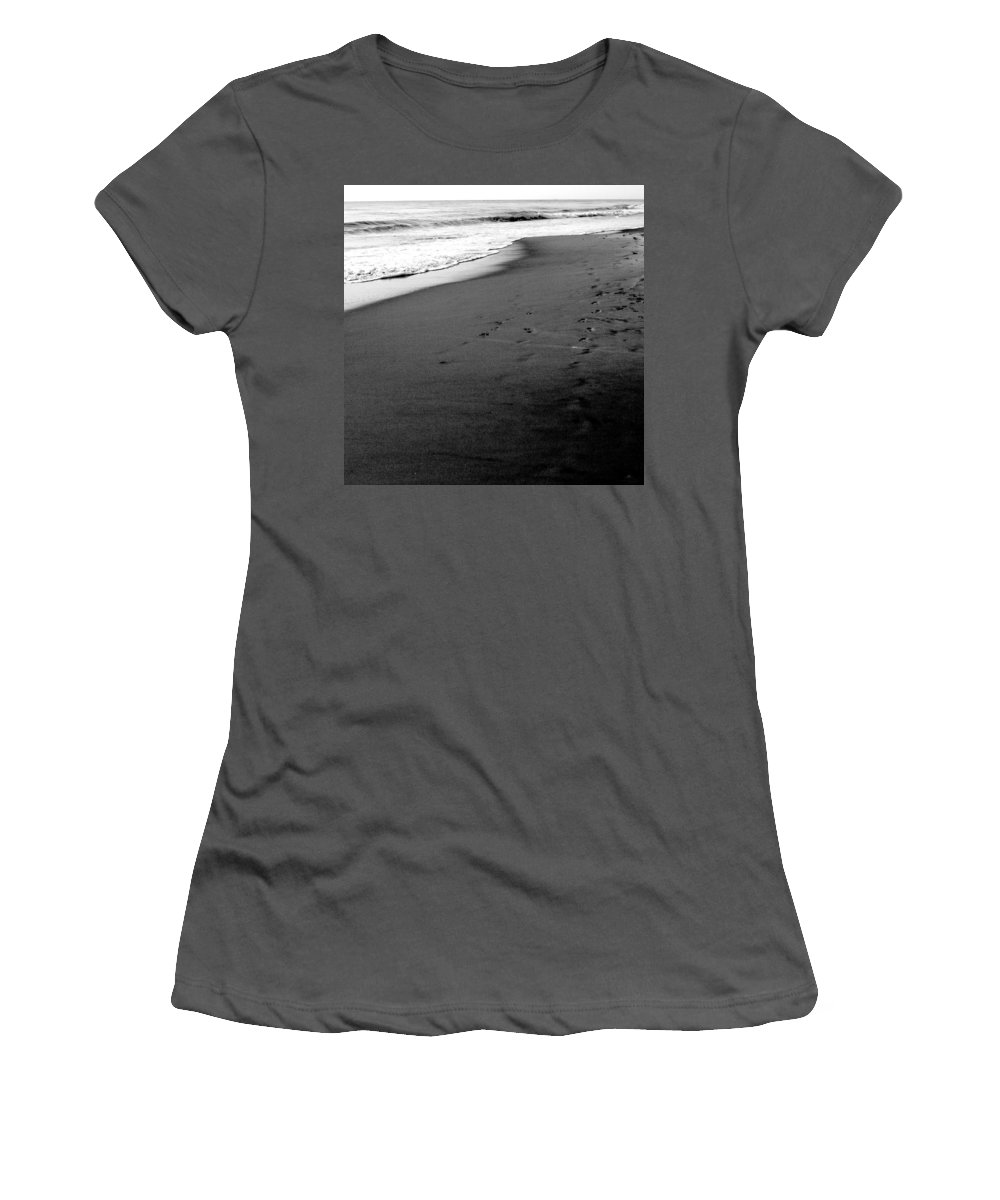 Photograph Women's T-Shirt (Athletic Fit) featuring the photograph In My Thoughts by Jean Macaluso