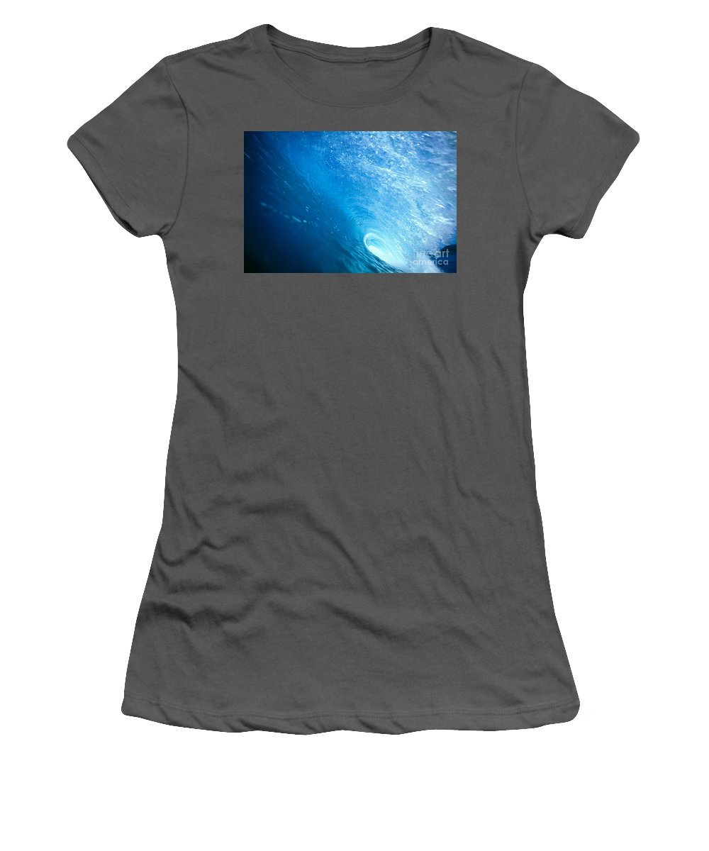 Amaze Women's T-Shirt (Athletic Fit) featuring the photograph Inside The Tube by Vince Cavataio - Printscapes