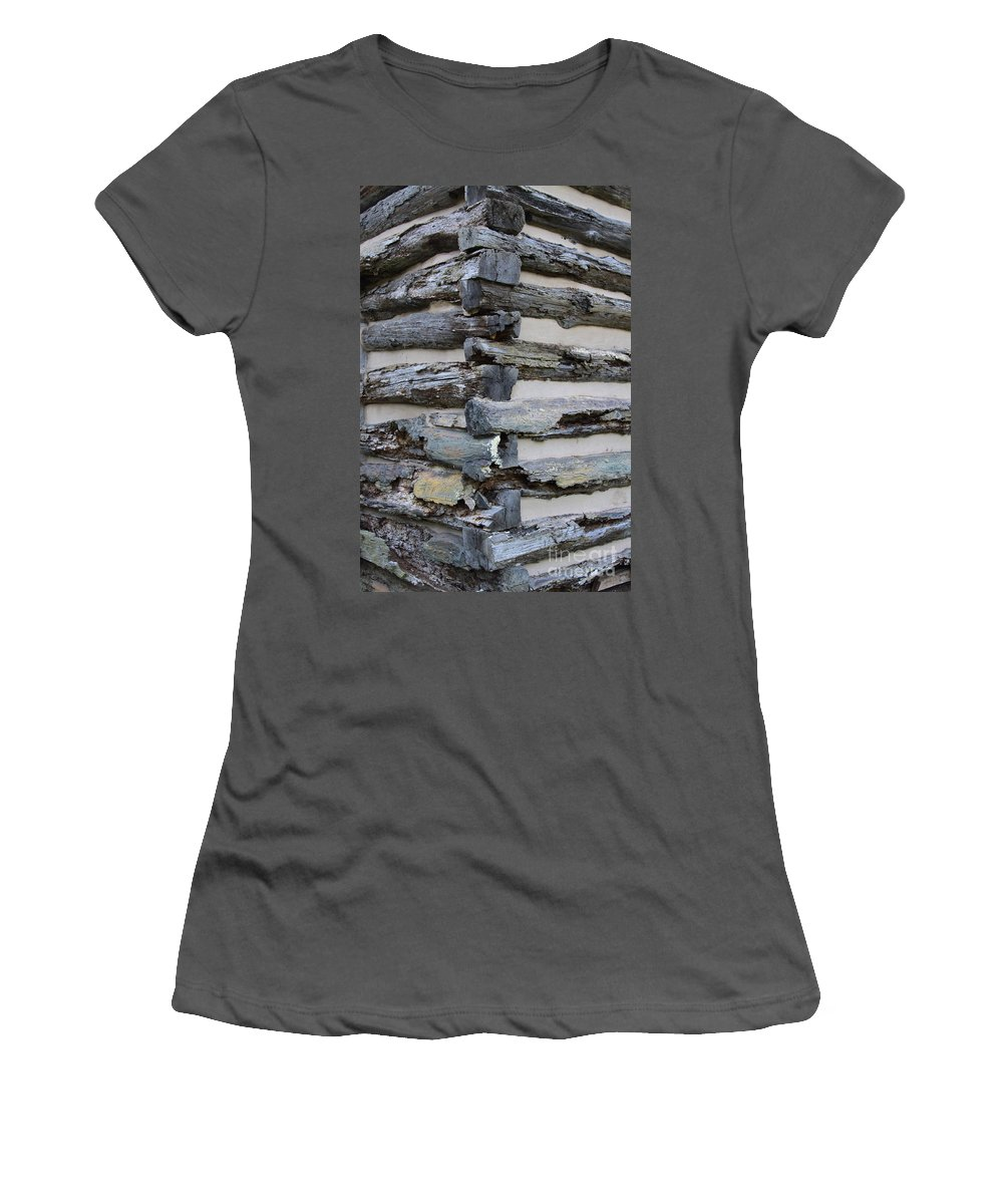 Cabin Women's T-Shirt (Athletic Fit) featuring the photograph Jiont-ing by Robert Pearson