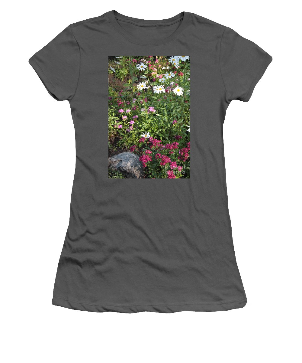 Garden Women's T-Shirt (Athletic Fit) featuring the photograph Lake Tahoe Garden by Carol Groenen