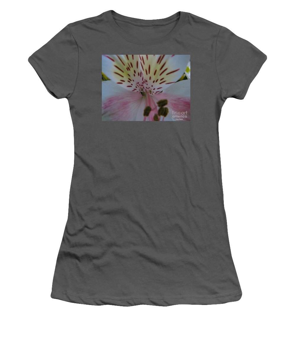 Patzer Women's T-Shirt (Athletic Fit) featuring the photograph Lily by Greg Patzer