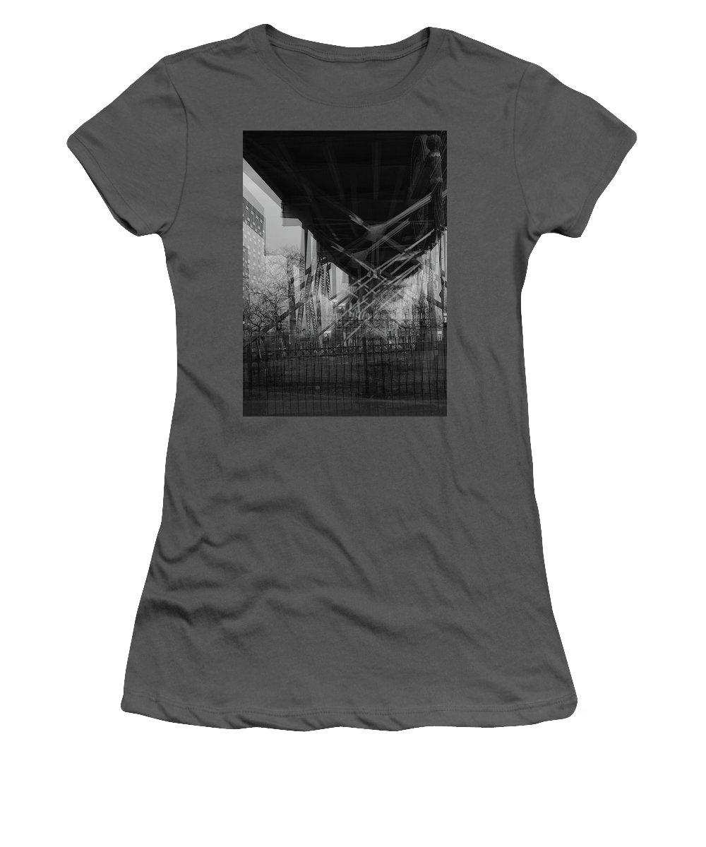 Landscape Women's T-Shirt (Athletic Fit) featuring the photograph Load by Robert Williams