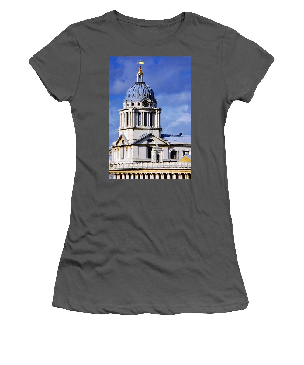 Impressionist Women's T-Shirt (Athletic Fit) featuring the photograph London Blues by Stephen Anderson