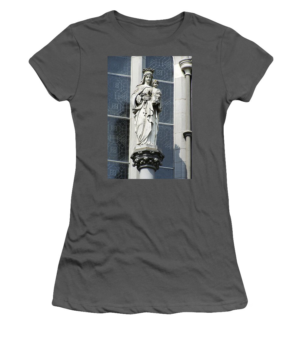 Ireland Women's T-Shirt (Athletic Fit) featuring the photograph Madonna And Child by Teresa Mucha