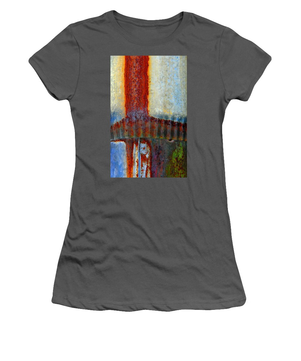 Skip Hunt Women's T-Shirt (Athletic Fit) featuring the photograph Magma by Skip Hunt