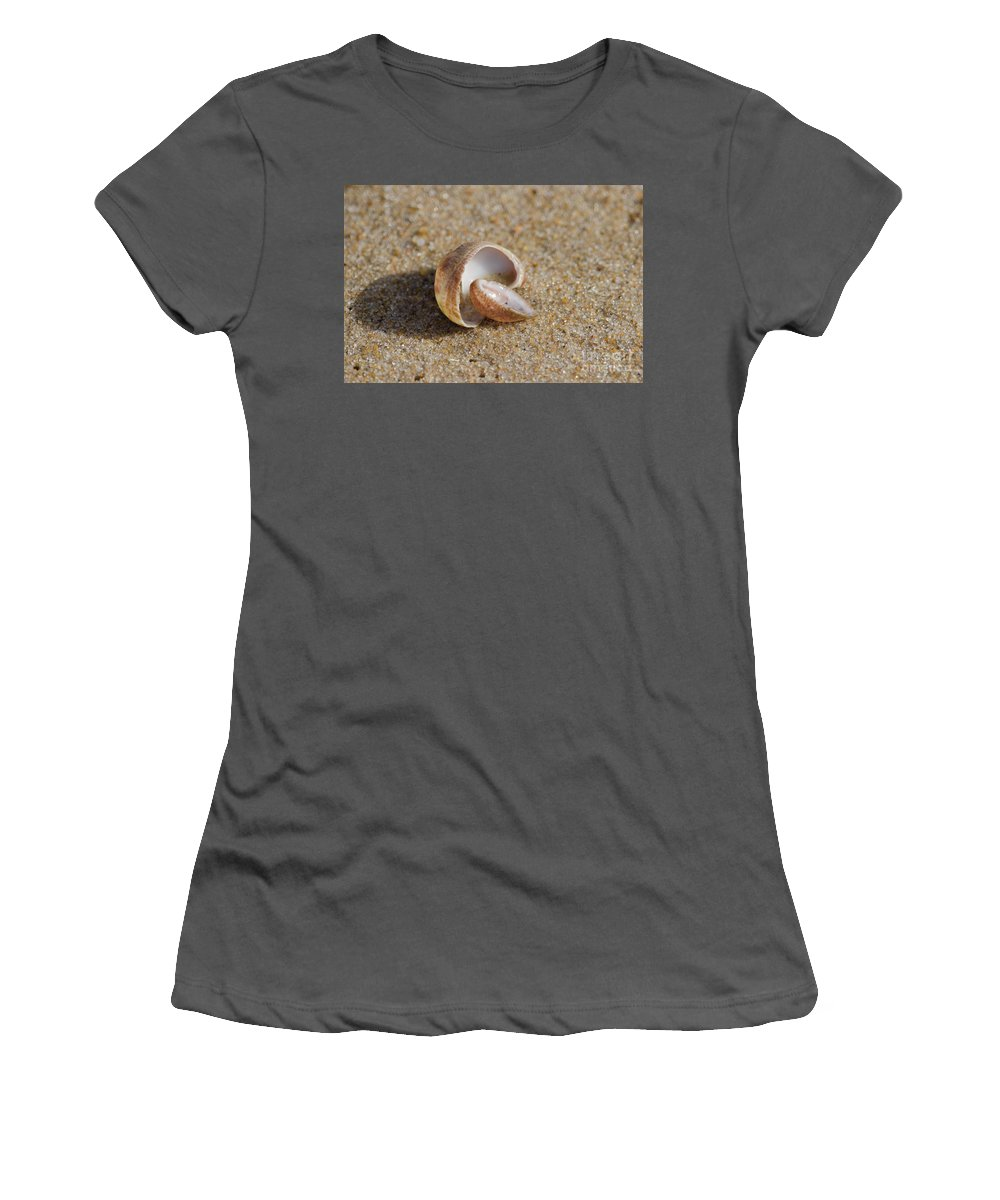 Beach Women's T-Shirt (Athletic Fit) featuring the photograph Matched Set by Neil Taitel