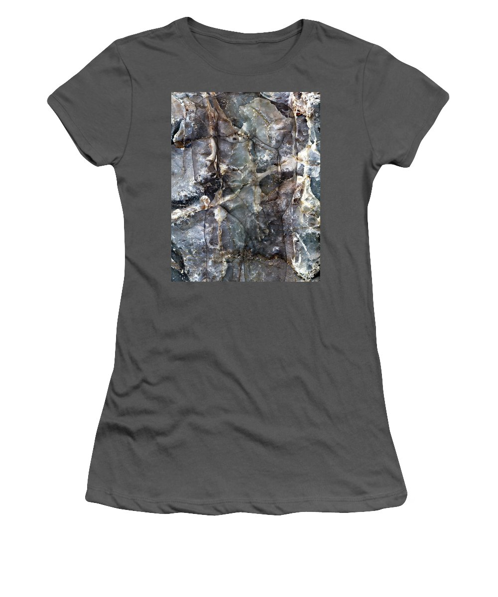Nudes Women's T-Shirt (Athletic Fit) featuring the photograph Metamorphosis Male by Kurt Van Wagner