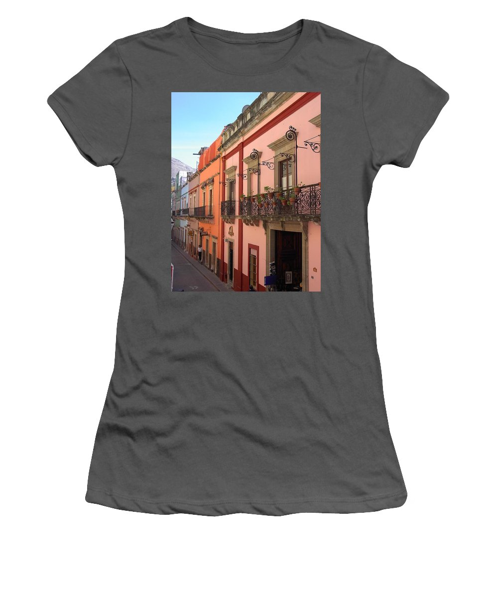 Charity Women's T-Shirt (Athletic Fit) featuring the photograph Mexico by Mary-Lee Sanders