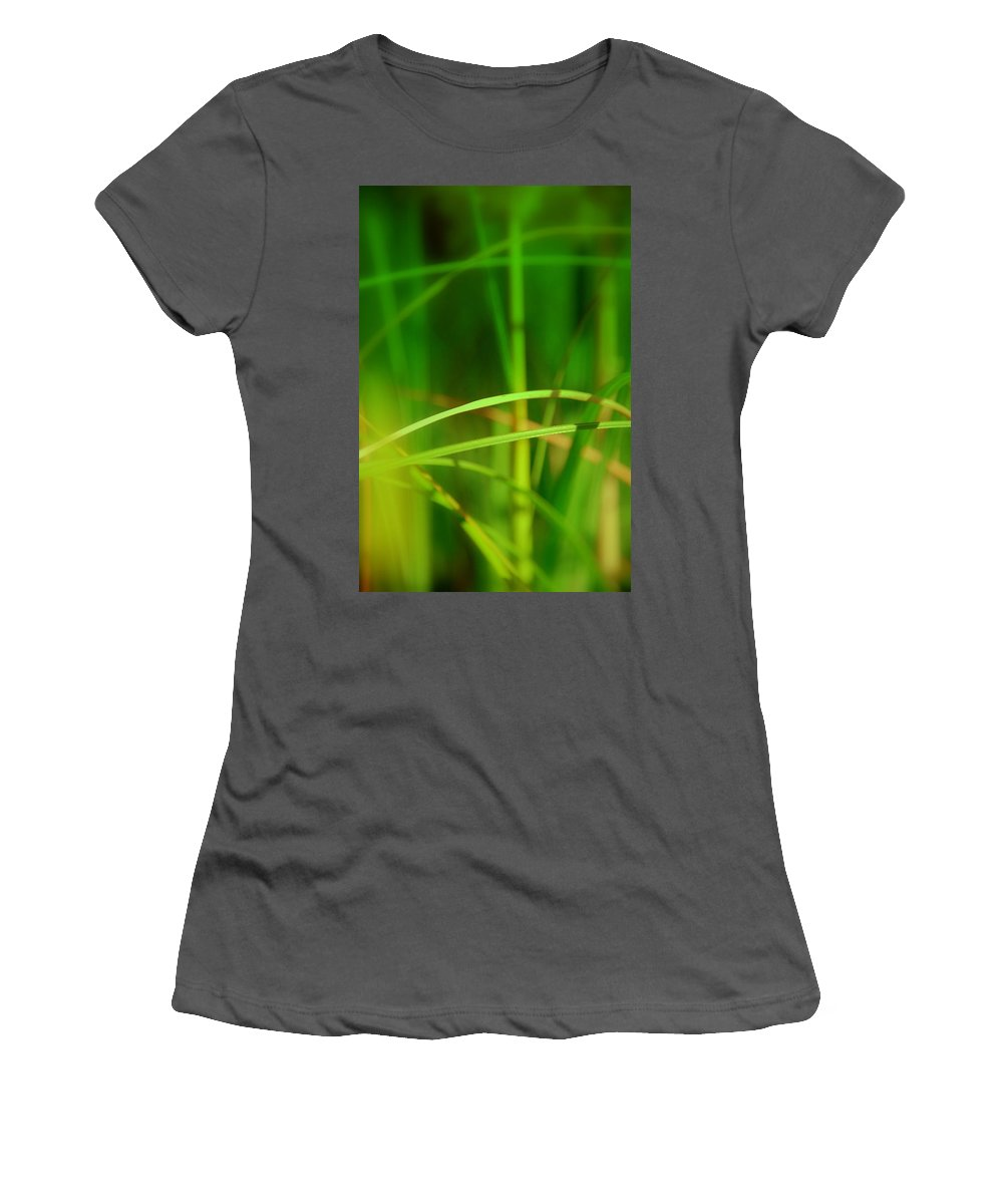 Mikado Women's T-Shirt (Athletic Fit) featuring the photograph Mikado by Susanne Van Hulst