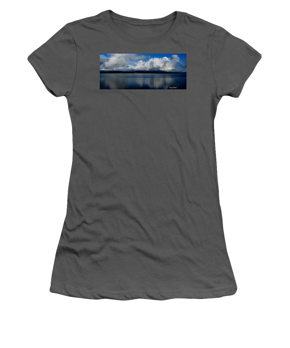 Patzer Women's T-Shirt (Athletic Fit) featuring the photograph Mystic by Greg Patzer