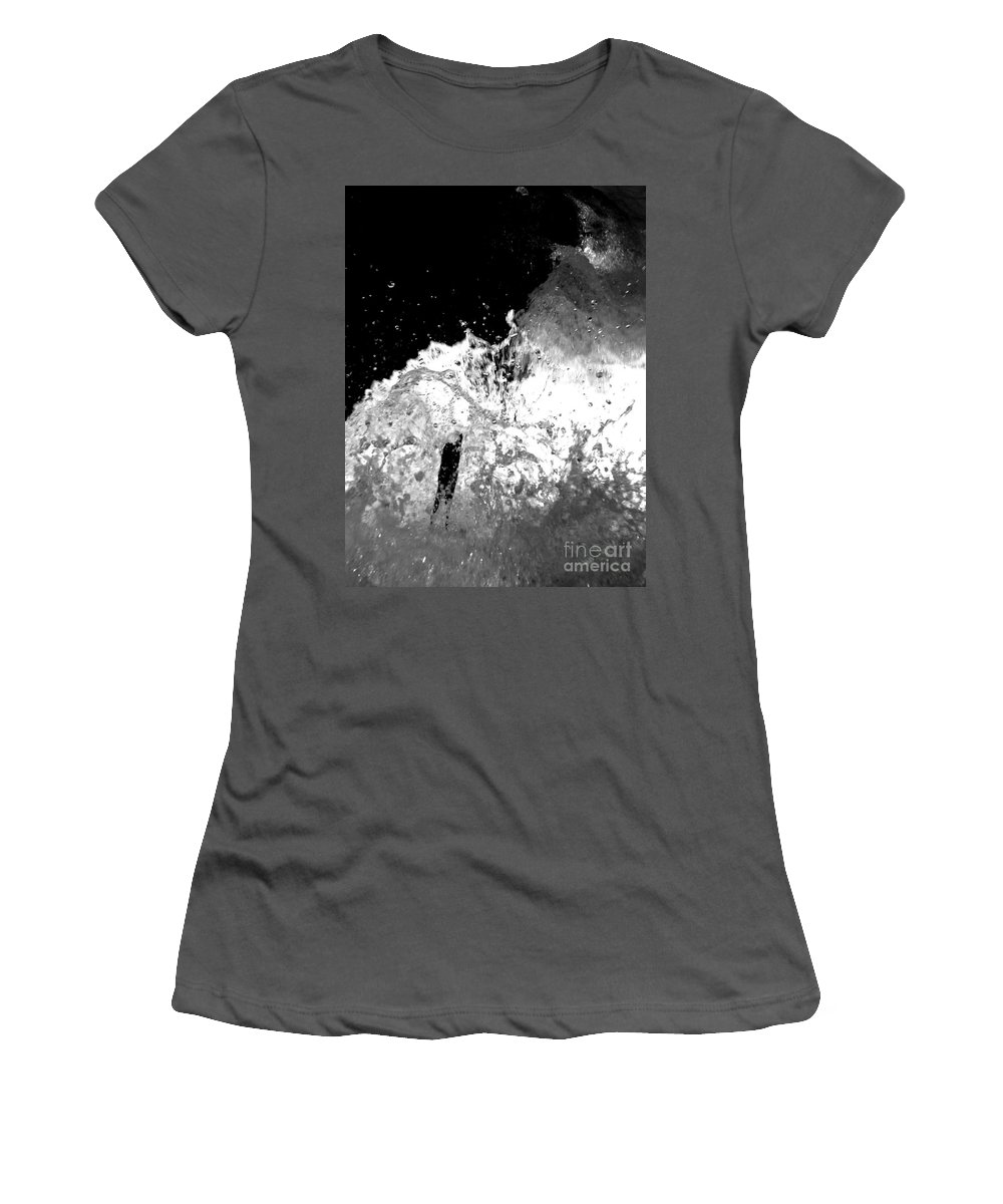 Water Women's T-Shirt (Athletic Fit) featuring the photograph Natural Power by Amanda Barcon