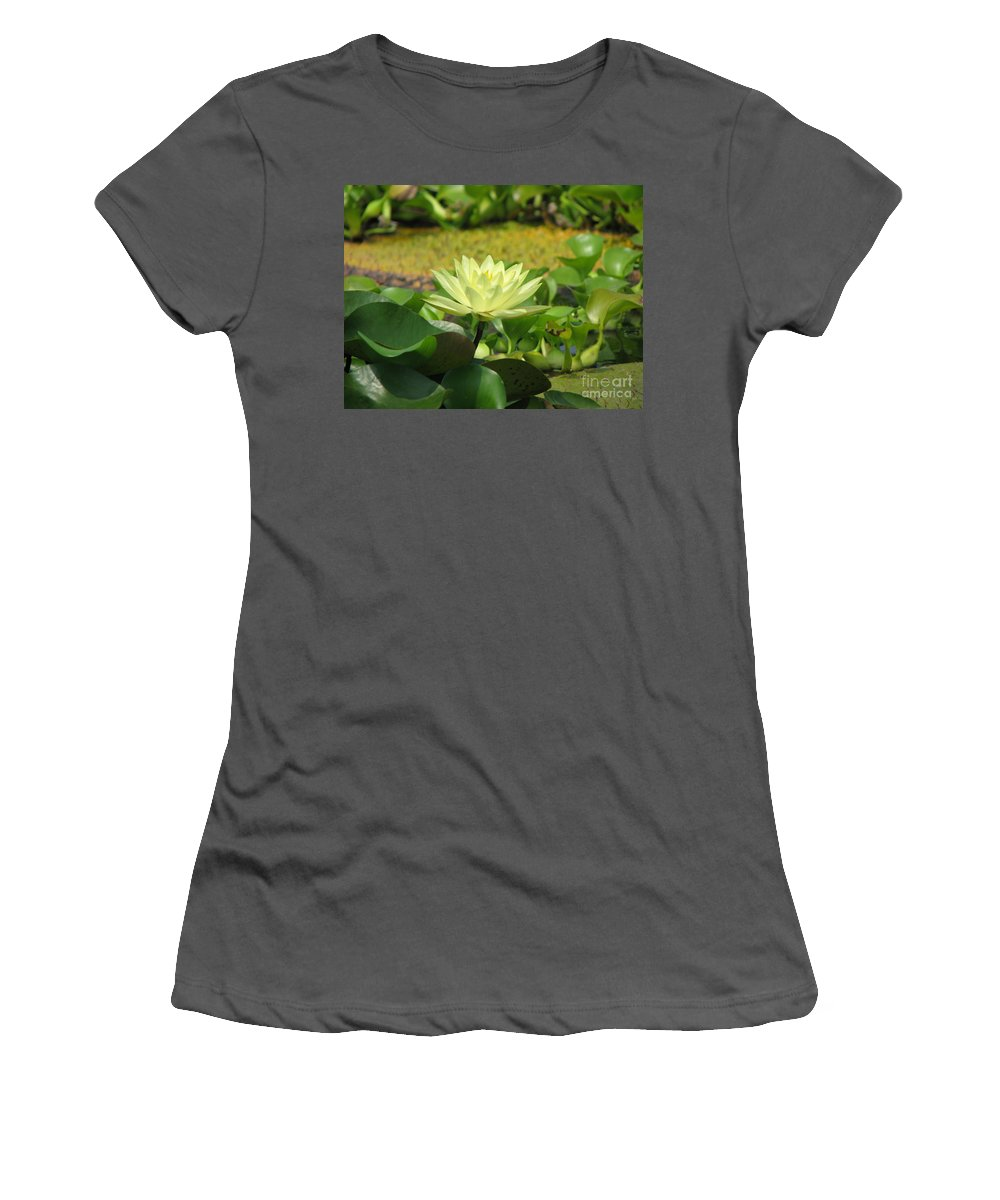 Nature Women's T-Shirt (Athletic Fit) featuring the photograph Nature by Amanda Barcon