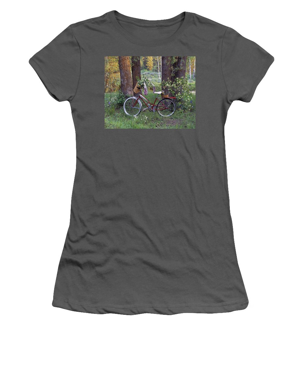Award Winning Photography Women's T-Shirt (Athletic Fit) featuring the photograph Nostalgia by Leland D Howard