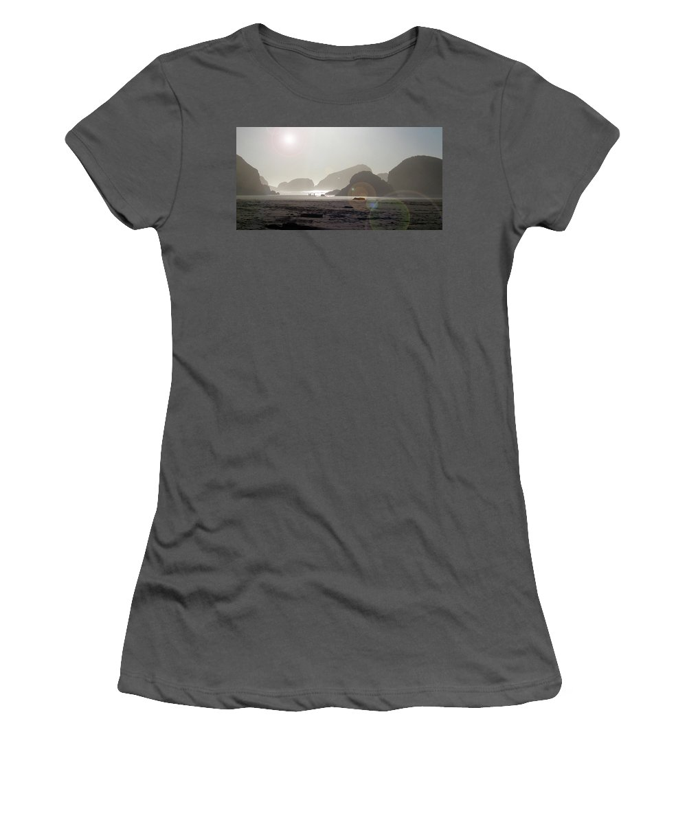 Landscape Women's T-Shirt (Athletic Fit) featuring the photograph Oregon Afternoon by Alan Olmstead