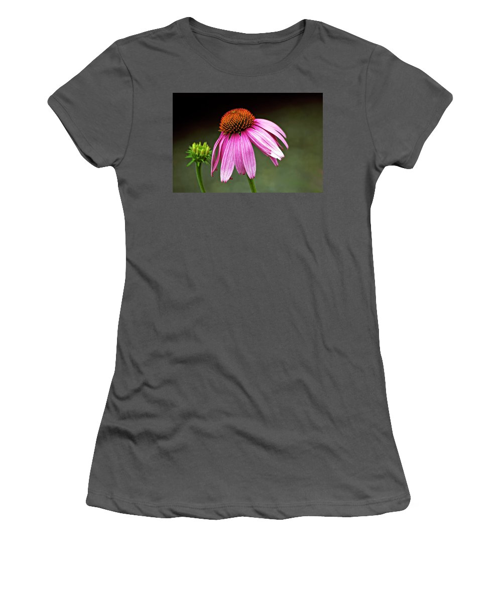 Flower Women's T-Shirt (Athletic Fit) featuring the photograph Passages by Steve Harrington