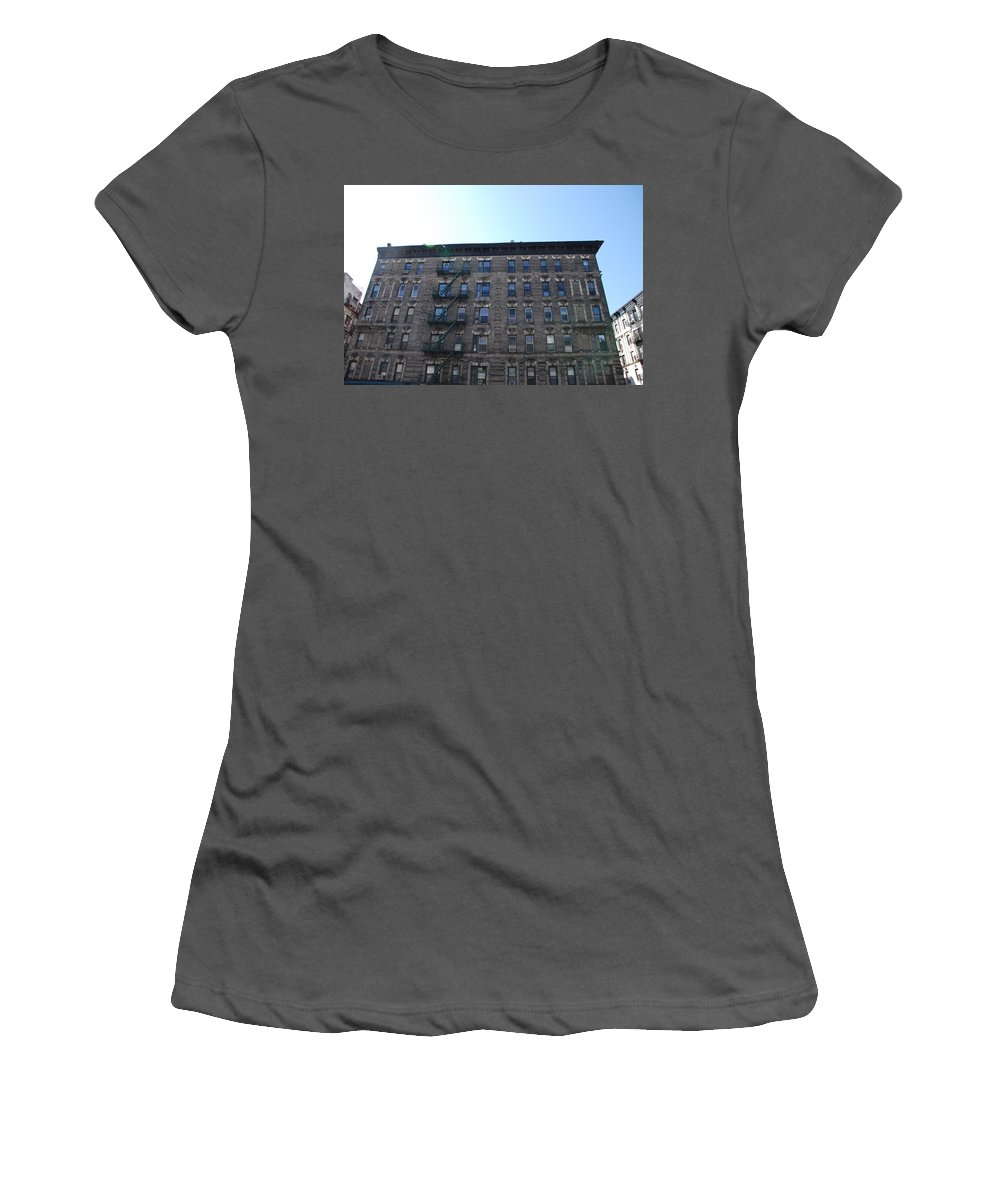 Architecture Women's T-Shirt (Athletic Fit) featuring the photograph Physical Graffitti by Rob Hans