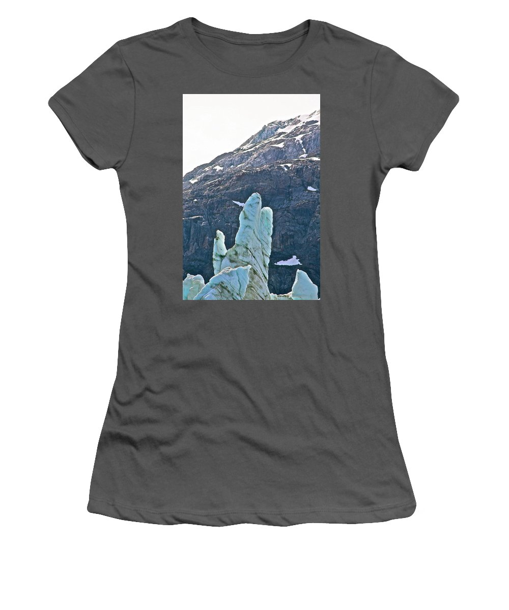Alaska Women's T-Shirt (Athletic Fit) featuring the photograph Praise The Lord by Diana Hatcher