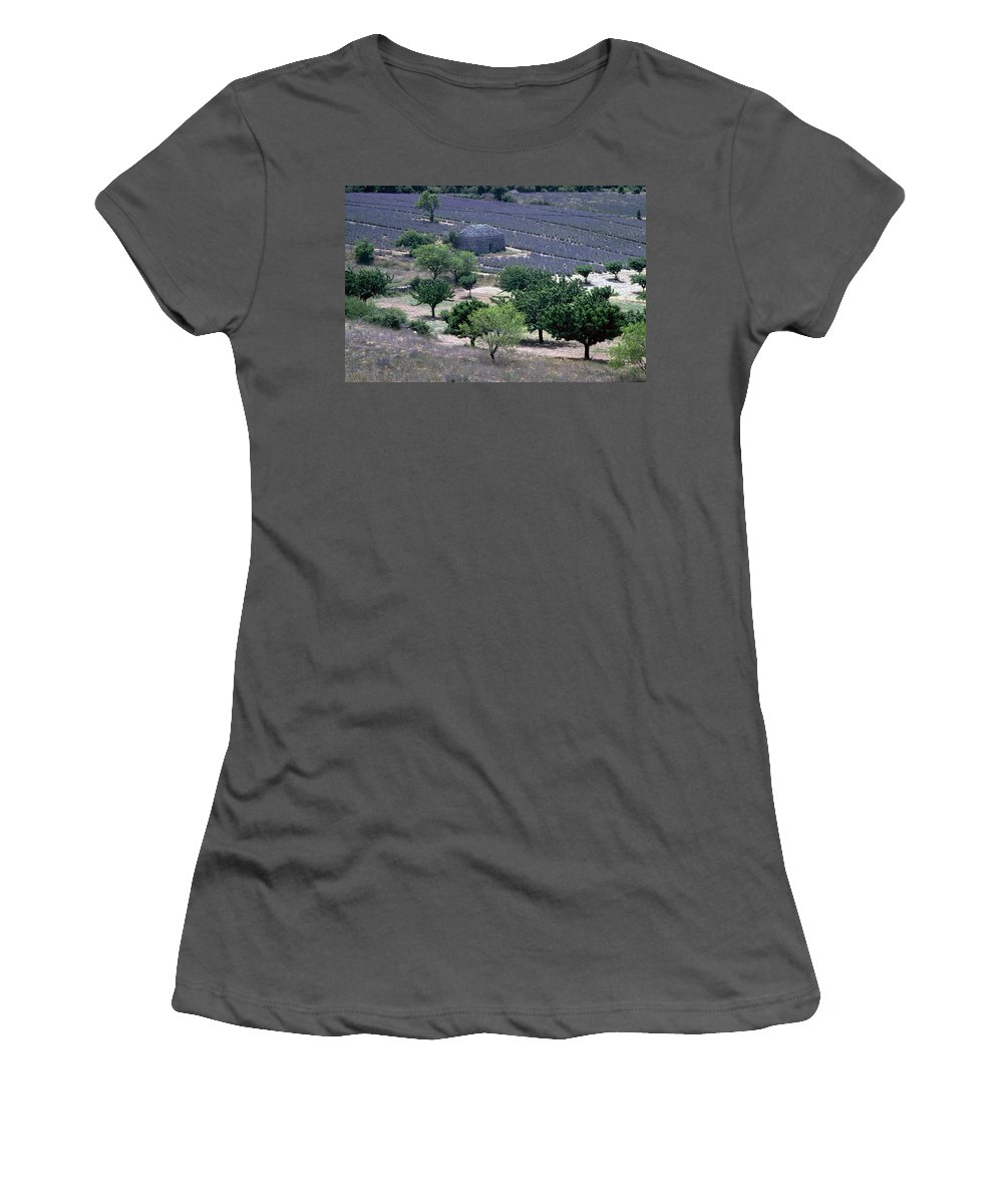 Provence Women's T-Shirt (Athletic Fit) featuring the photograph Provence by Flavia Westerwelle