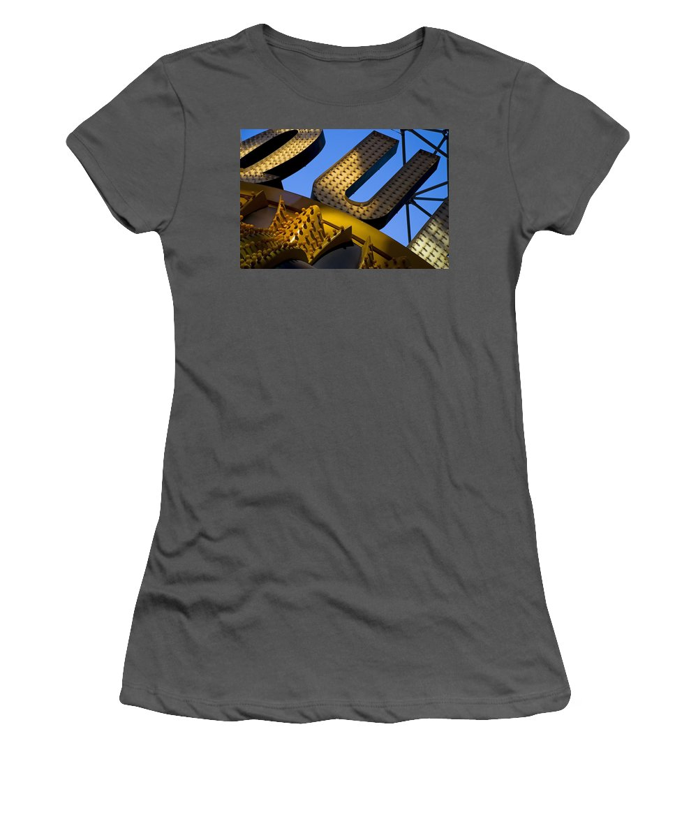 Architecture Women's T-Shirt (Athletic Fit) featuring the photograph Queen Of Hearts by Skip Hunt