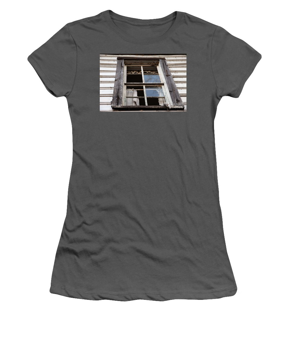 Rapunzel's Decay Women's T-Shirt (Athletic Fit) featuring the photograph Rapunzel's Decay by Amanda Barcon