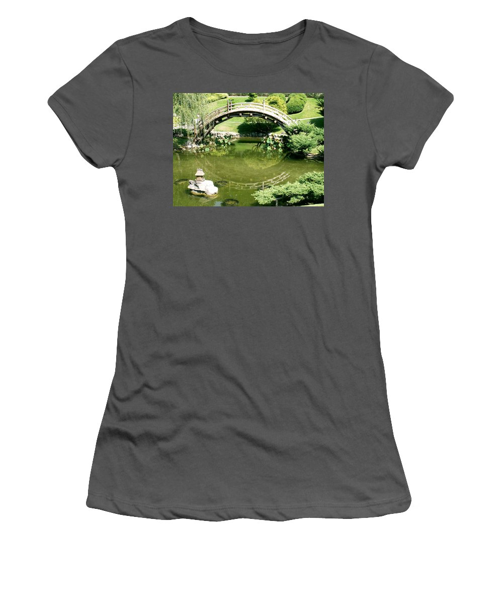 Nature Women's T-Shirt (Athletic Fit) featuring the photograph Reflections by Amy Fose