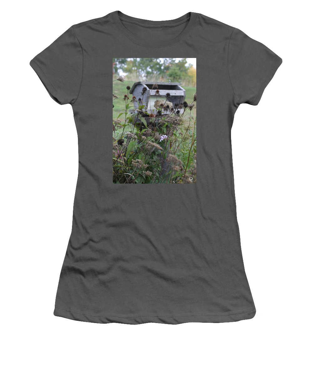 Retreat Women's T-Shirt (Athletic Fit) featuring the photograph Retreat by Bjorn Sjogren
