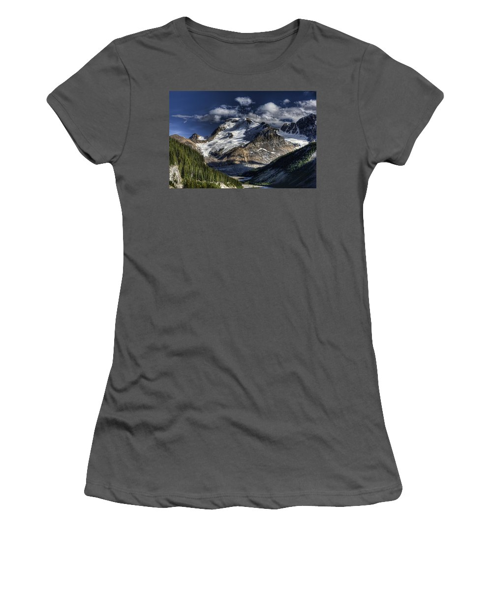 Canada Women's T-Shirt (Athletic Fit) featuring the photograph Rocky Mountain High by Wayne Sherriff