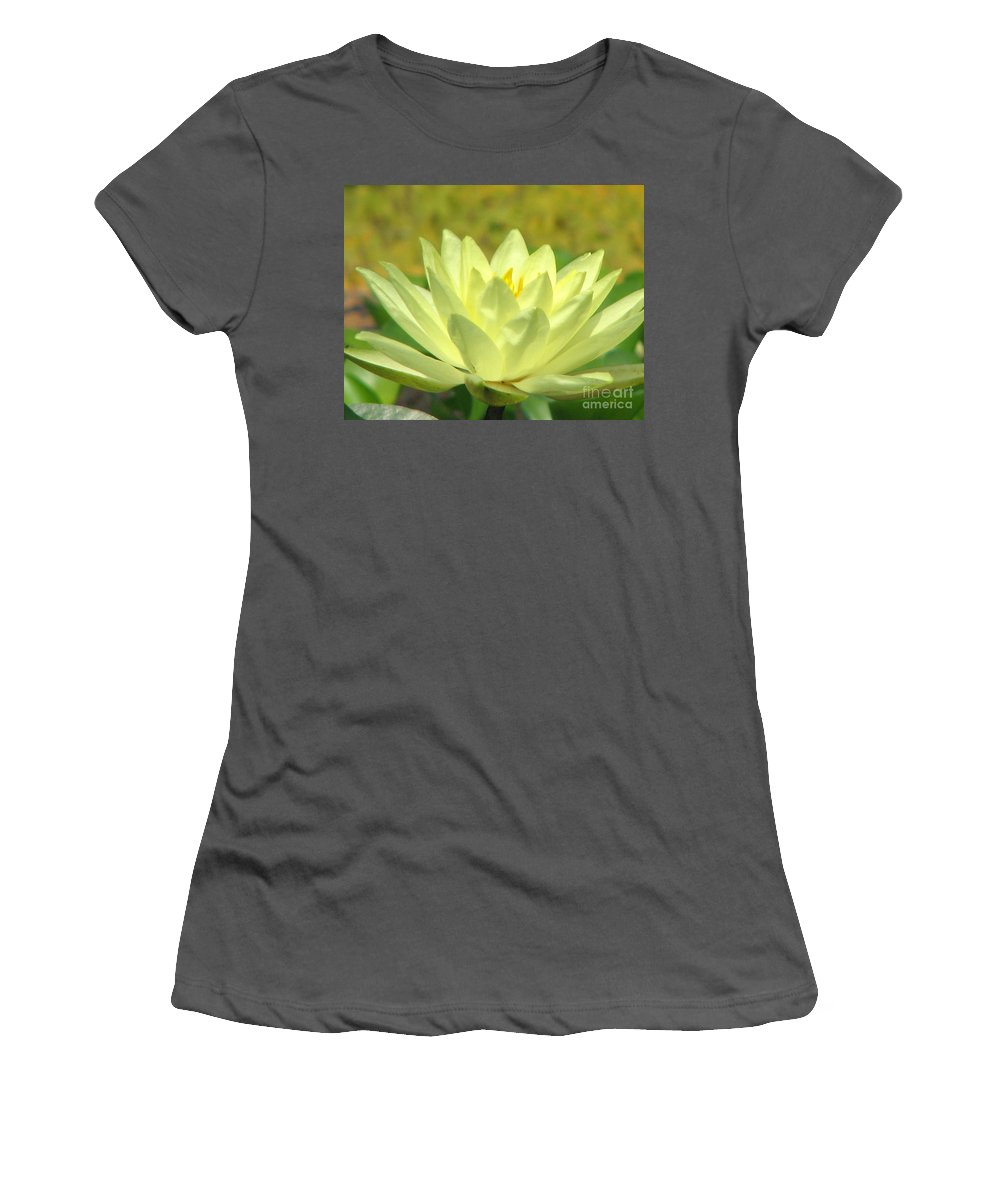 Lillypad Women's T-Shirt (Athletic Fit) featuring the photograph Shades by Amanda Barcon