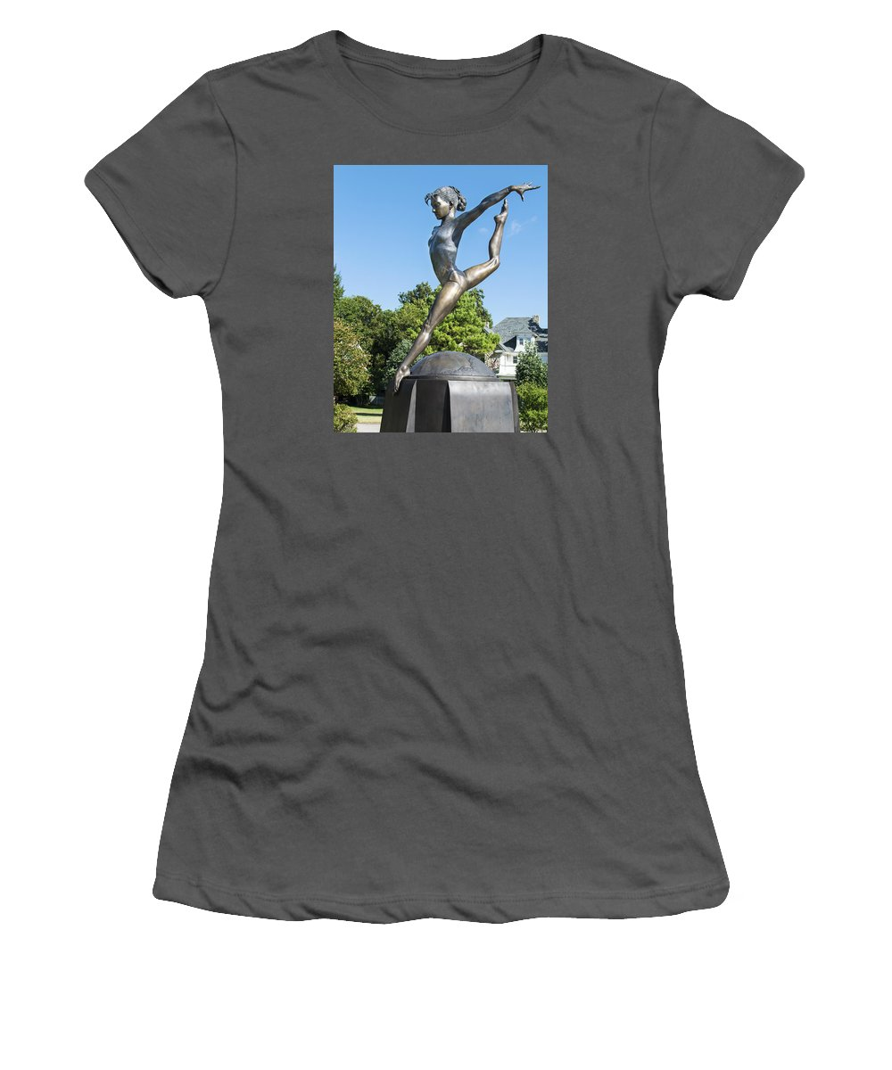 Shannon Miller Women's T-Shirt (Athletic Fit) featuring the photograph Shannon Miller by Bruce Jackson