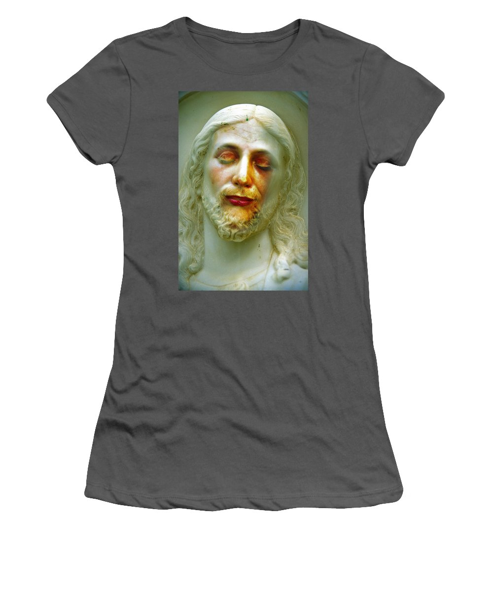 Jesus Women's T-Shirt (Athletic Fit) featuring the photograph Shesus by Skip Hunt