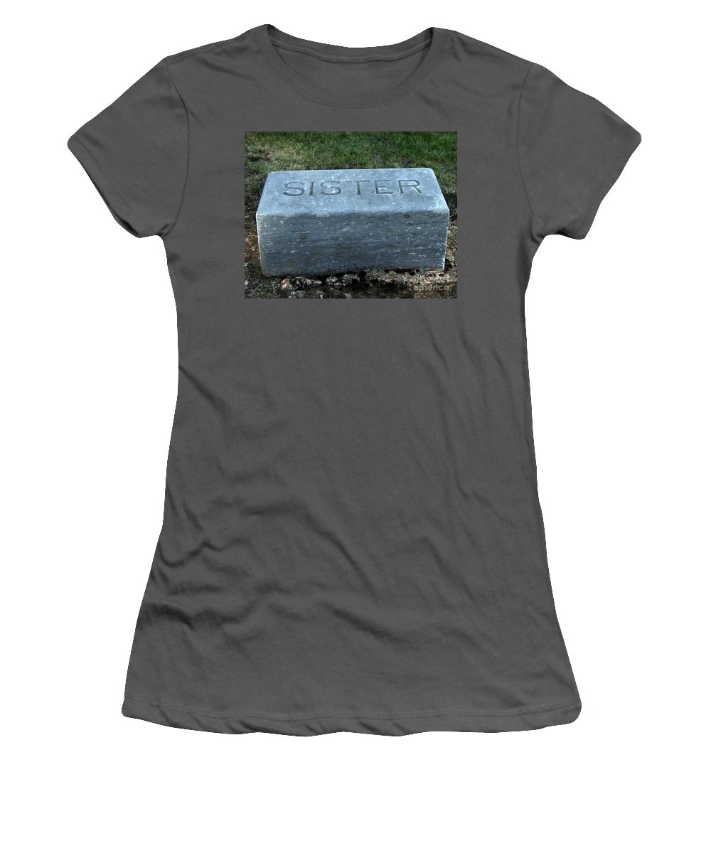 Sister Women's T-Shirt (Athletic Fit) featuring the photograph Sister by Peter Piatt