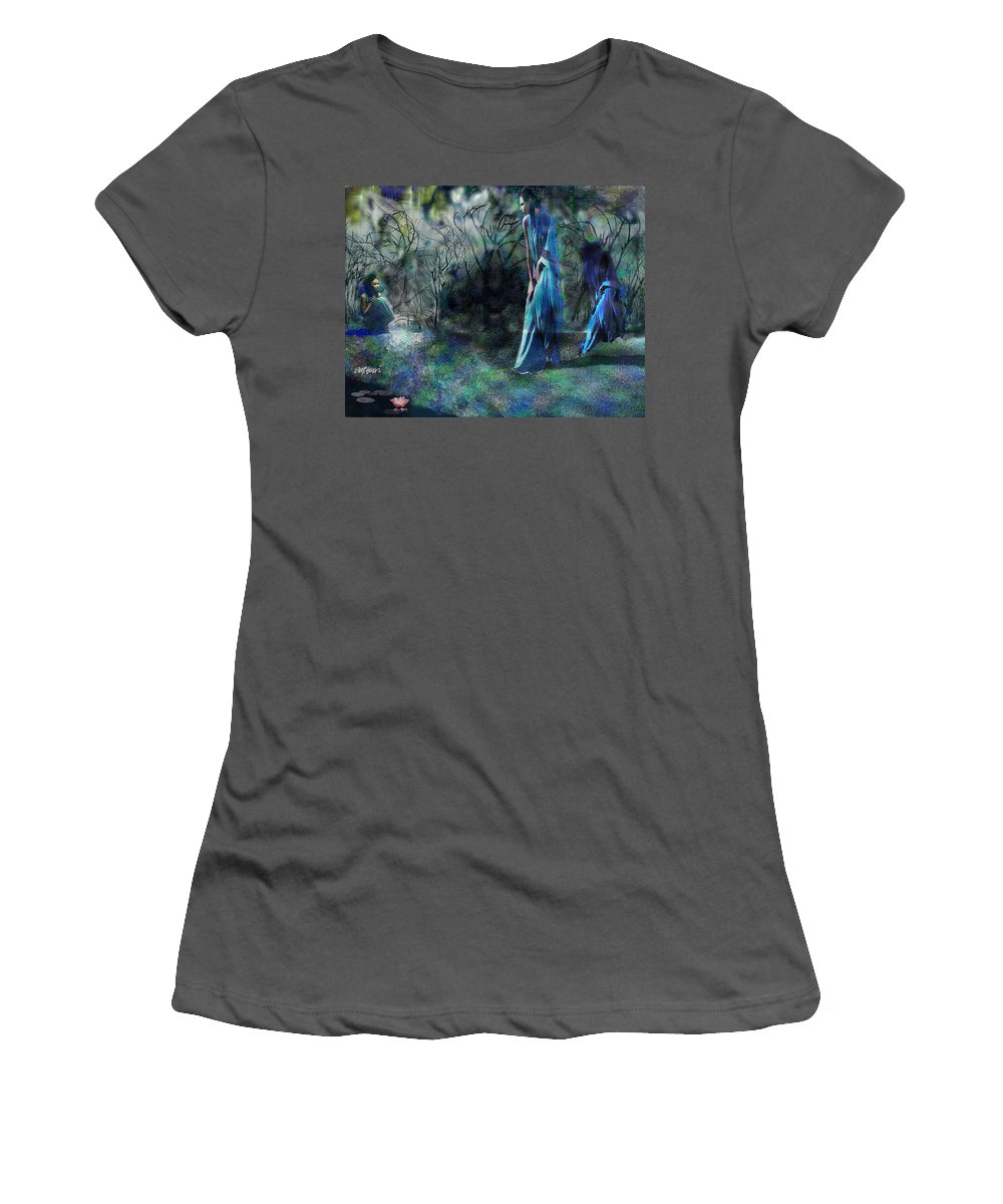 Sisters Of Fate Women's T-Shirt (Athletic Fit) featuring the photograph Sisters Of Fate by Seth Weaver