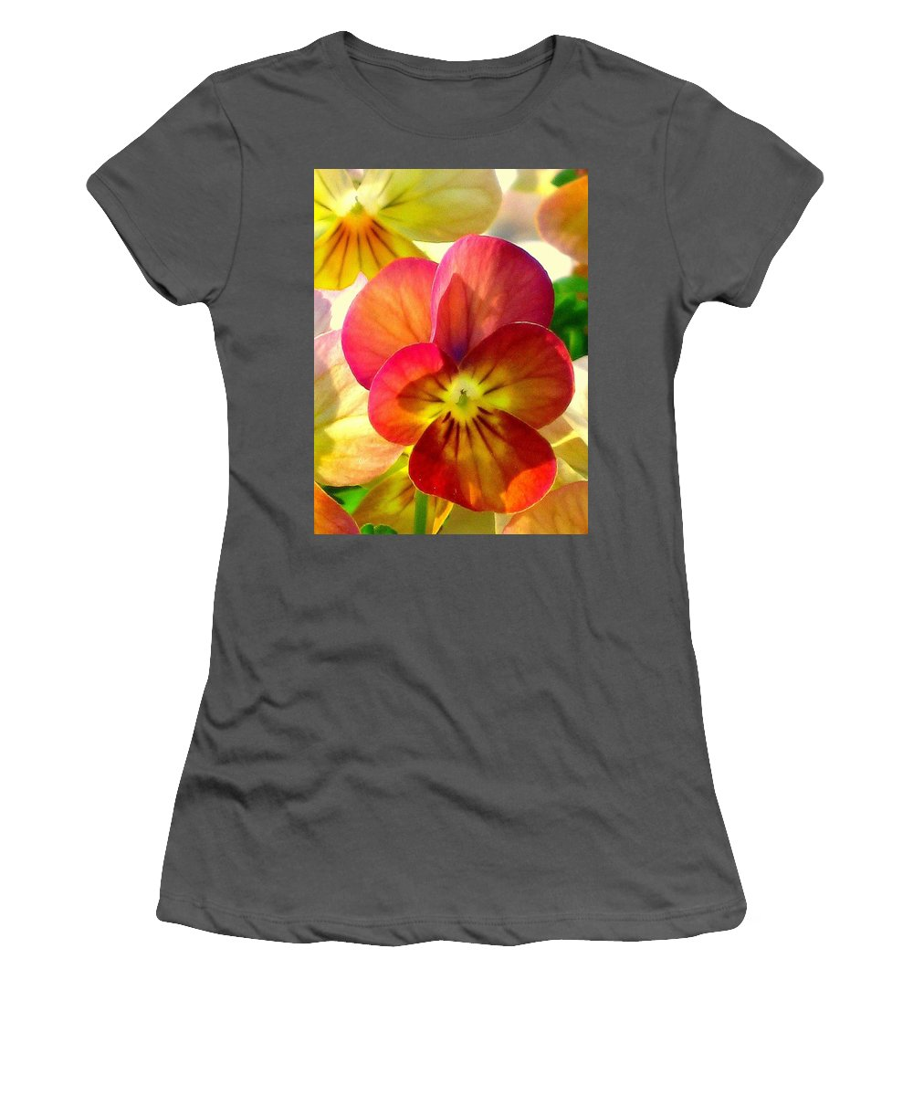 Floral Women's T-Shirt (Athletic Fit) featuring the photograph Spring Has Sprung by Marla McFall