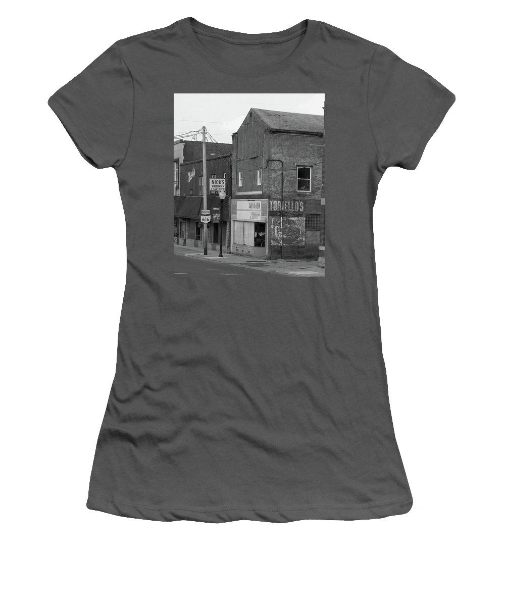 Struthers Women's T-Shirt (Athletic Fit) featuring the photograph Struthers, Ohio by George Elliott