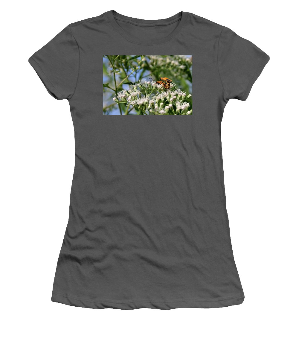 Beetle Women's T-Shirt (Athletic Fit) featuring the photograph Summer Lovin by Kristin Elmquist