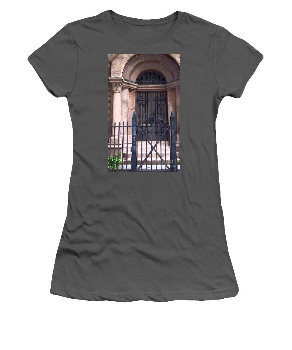 Church Women's T-Shirt (Athletic Fit) featuring the photograph Sunday by Debbi Granruth
