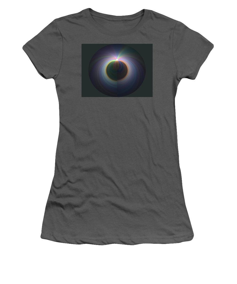 Sunrise Women's T-Shirt (Athletic Fit) featuring the digital art Sunrise At 30k 2 by Tim Allen