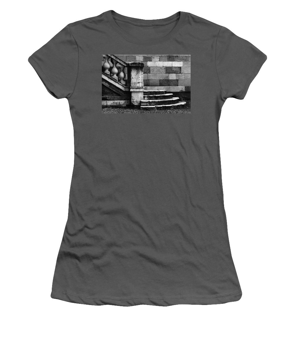 Monochrome Women's T-Shirt (Athletic Fit) featuring the photograph Teorema by Sergio Bondioni