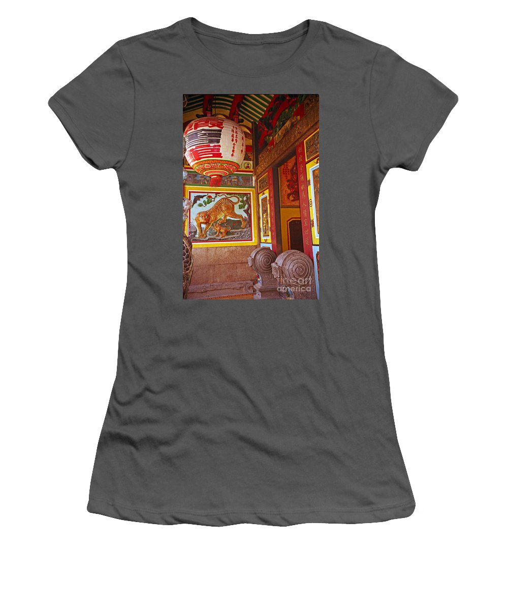 Vietnam Women's T-Shirt (Athletic Fit) featuring the photograph Tiger Mural by Rich Walter