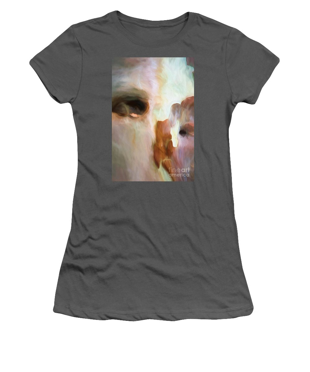 Tree Women's T-Shirt (Athletic Fit) featuring the photograph Tree Bark Collection # 45 by Philip Johnson