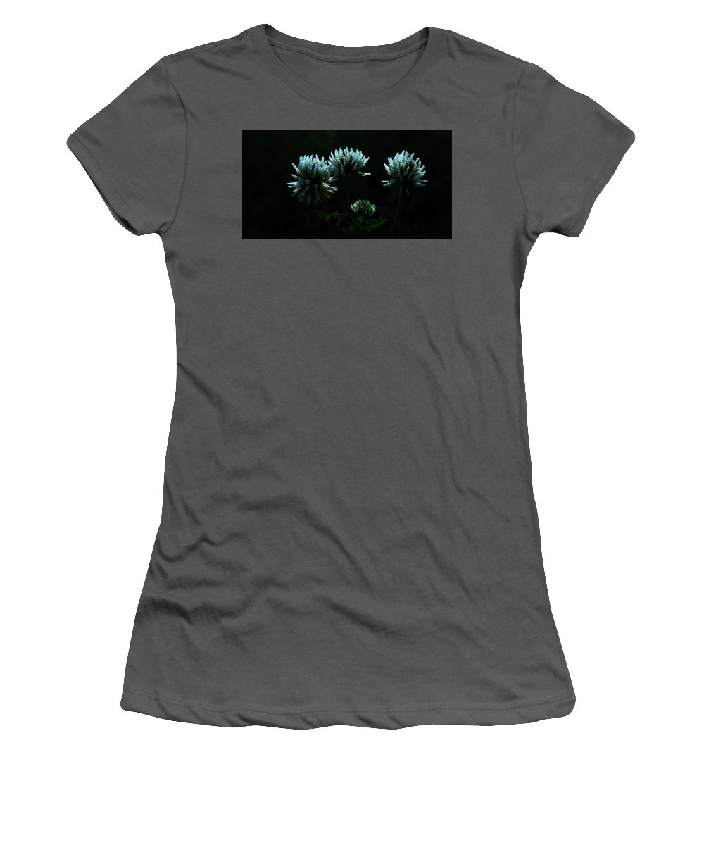 Clover Women's T-Shirt (Athletic Fit) featuring the photograph Trifolium Montanum by Peter Pier
