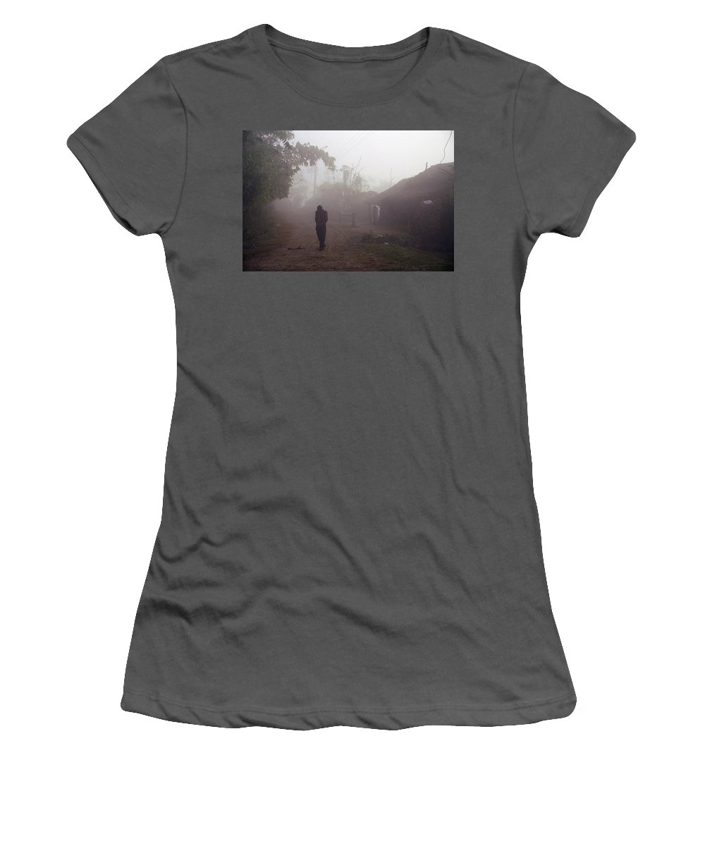 Nepal Women's T-Shirt (Athletic Fit) featuring the photograph Tristesse by Patrick Klauss