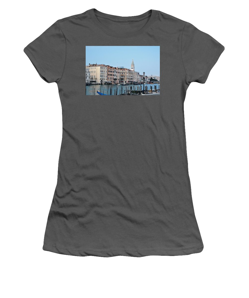 Venice Women's T-Shirt (Athletic Fit) featuring the photograph View Of San Marcos by Kristian Kraus